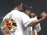 Breezy isn't bothered: Chris Brown is 'accepting' of Rihanna's rekindled romance with rapper Drake