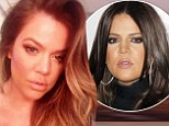 Khloe Kardashian shows off suspiciously smooth forehead and full pout in new Twitter snap