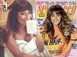 'I walk around naked in my backyard': Lea Michele posts revealing photo in her towel as she credits late boyfriend Cory Monteith with making her 'feel so beautiful'