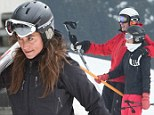 Pippa Middleton and Nico Jackson on ski vacation in Lech