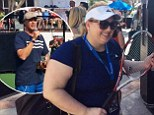 Super Fun Time! Rebel Wilson tears up the tennis court with fellow comedians Will Ferrell and Joel McHale