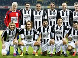 Stars: AN all-star cast of former players played in the 11th Match against Poverty