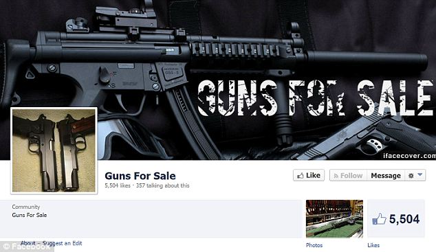 Worrisome trend? In response to outcries from gun control advocates, Facebook says it will ban all posts and accounts that somehow facilitate or advocate illegal gun sales on the social media site