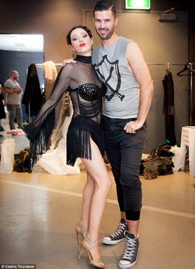 Leather, tassels and a see-through dress! Behind-the-scenes of Tina Arena's raunchy Mardi Gras performance