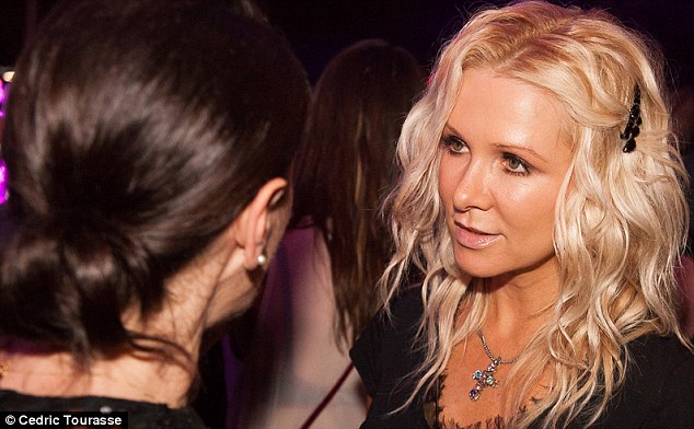 Catching up: Tina was seen talking with singer songwriter and ex-wife of Russell Crowe, Danielle Spencer at the after-party