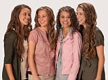 Growing pains: The devout Christian Duggar daughters open up about courtship, eating disorders and sibling rivalry in new tell-all book titled Growing Up Duggar
