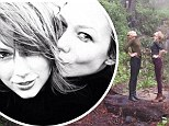 'Best road trip ever!' Taylor Swift explores NoCal's redwoods and beaches with her supermodel gal pal Karlie Kloss