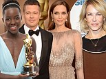 Accused of being a racist: Chelsea Handler takes shots at Lupita Nyong'o and Brad Pitt's film 12 Years A Slave... and manages to hit Angelina Jolie AGAIN
