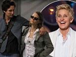 Who needs Ellen! DeGeneres' ex Alexandra Hedison walks arm-in-arm with girlfriend Jodie Foster wearing a ring on her wedding finger