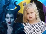 Angelina Jolie cast daughter Vivienne, five, in Maleficent because the child actors who auditioned were terrified of costume... but son Pax ran away crying when he saw her