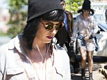 Katy Perry goes to lunch at Catalina in Sydney