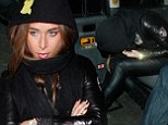 Chloe Green leaves DSTRKT nightclub
