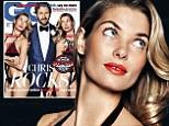 Double trouble! Bikini-clad Jessica Hart flaunts her super toned figure as she appears TWICE on GQ magazine cover with Irish funnyman Chris O'Dowd