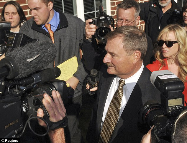McQueary is expected to testify against the University's former senior vice president for finance and business, Gary Schultz, seen here in this November 2011 file photo