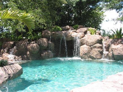 Water Feature with Grotto