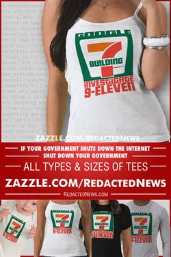 RedactedNews Building7 Tee