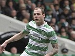 Charged: Celtic's Anthony Stokes has been charged with assaulting an Elvis impersonator
