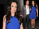 Tamara Ecclestone enjoys date night