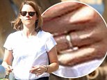 Something to tell us? Jodie Foster spotted wearing ring on wedding finger one day after girlfriend displayed her own gold band