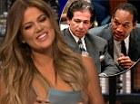 'I hope he's not my dad... because I slept with him': Khloe Kardashian makes crass joke as she laughs off OJ Simpson paternity rumours on Chelsea Handler hosting gig