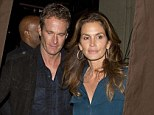 Super Model Cindy Crawford and her Night Club Mogul husband Randy Gerber were seen leaving 'Craigs' Restaurant in West Hollywood
