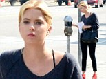 Ashley Benson spotted going into a business meeting in Hollywood