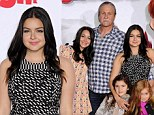 She's still daddy's girl! Ariel Winter gets her family's loving support at Mr Peabody & Sherman premiere