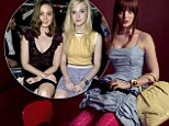 Australian actress Bella Heathcote brought gothic chic to the Miu Miu Paris Fashion Week runway show on Wednesday where she cosied up to Elle Fanning