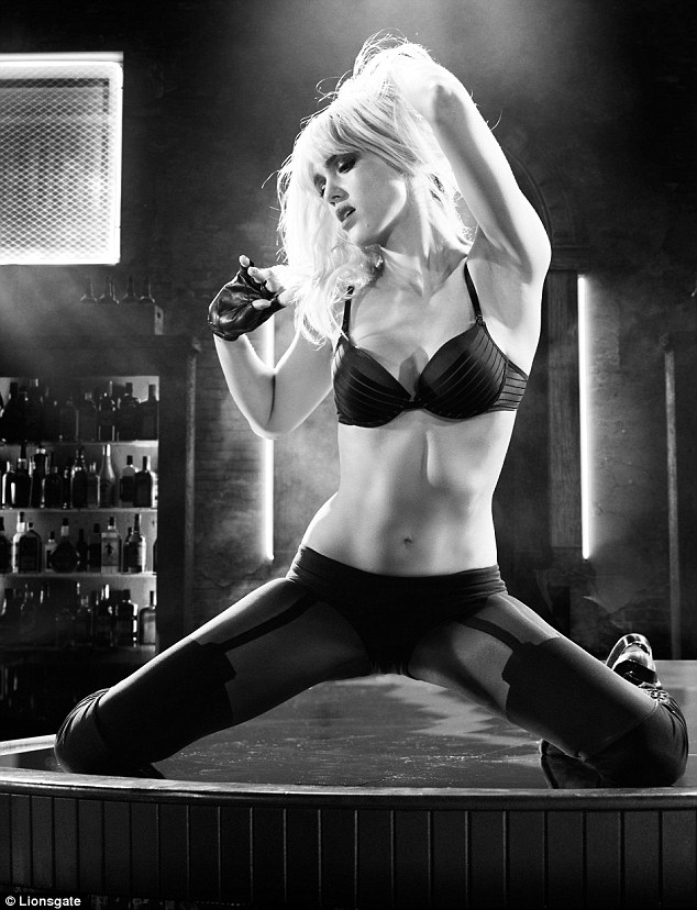 A welcome return: Jessica Alba reprises her role as stripper Nancy Callahan in Sin City: A Dame To Kill For