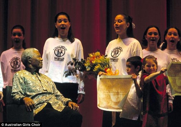 Legends: The choir has performed for some of the world's most influential people including the late Nelson Mandela