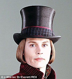 Remember me? Johnny Depp as Willy Wonka in 2005 remake Charlie And The Chocolate Factory