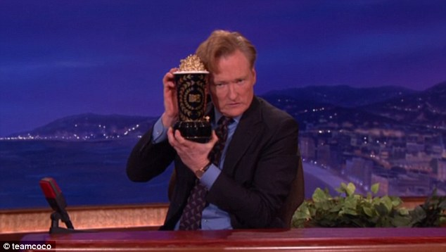 Old hand: The late night talk show host has previously hosted the Emmys in 2002 and 2006