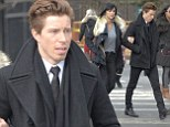 Shaun White out with mystery woman
