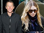 New tell-all book reveals how Lance Armstrong once dated Ashley Olsen 'despite being warned it would affect his image'