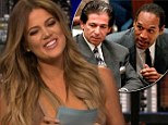 'I hope he's not my dad... because I slept with him': Khloe Kardashian makes crass joke as she laughs off OJ Simpson paternity rumours on Chelsea Handler hosting gig