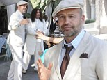 Billy Zane in All white
