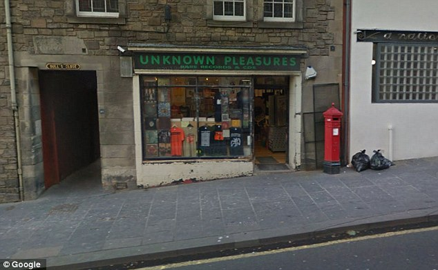 Craig, who runs vinyl record store Unknown Pleasures in Edinburgh's Royal Mile and an online business, also claimed he would be forced to pay off staff if he was banned