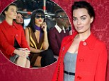 'One to tick off the bucket list!': Stylish  Margot Robbie sits front row with Rihanna and Lupita Nyong'o at Paris Fashion Week