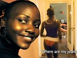 Before she was famous: Lingerie-clad Oscar winner Lupita Nyong'o juggled two men in sexually-charged Kenyan soap opera