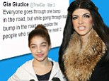 'Everyone goes through a bump in the road': Gia Giudice, 13, tweets support for parents Joe and Teresa who face prison for fraud
