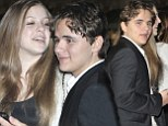 Prince Jackson turns on the PDAs with girlfriend Nikita Bess at the premiere for children's film Mr Peabody And Sherman