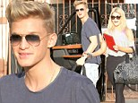Cody Simpson was spotted rolling up to his Dancing With The Stars rehearsal with his gorgeous partner Whitney Carson on Thursday