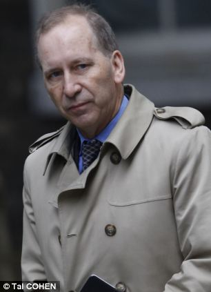 Detained: Patrick Rock, a key adviser to David Cameron and deputy director of the No 10 policy unit, resigned and was arrested almost three weeks ago