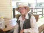 Daniel Dudzisz, has been found after becoming stranded in the Queensland outback.