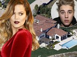 Khloe Kardashain 'buys Justin Bieber's Calabasas party pad... which is steps from sister Kourtney's new digs'