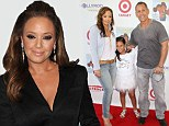 Reality show: Leah Remini, shown in January in Beverly Hills, California, started filming a new reality show on Wednesday also starring her family