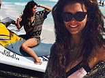 Fangtastic! Vampire Diaries star Nina Dobrev slips into a bikini and playsuit and hops aboard a jet ski on Mexican getaway