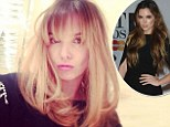'Messy hurrr don't currr!': Jodi Albert unveils new short blonde 'do and fringe ahead of Big Reunion tour with Girl Thing