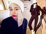 Miley Cyrus displays flawless complexion on private jet, despite demanding tour schedule