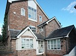 The house was bought by the Manchester United footballer in the mid-90s, just as he was becoming a household name before moving on to grander homes